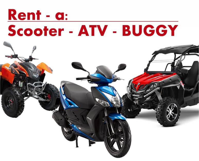 rent scooter, rent quad, rent buggy supetar brac, bol, milna, postira, najam scooter, najam quad atv, najam buggy, brac, from split, croatia