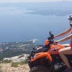 Quad safari Bol Gastro Tour, bol quad safari zlatni rat beach from vidova gora