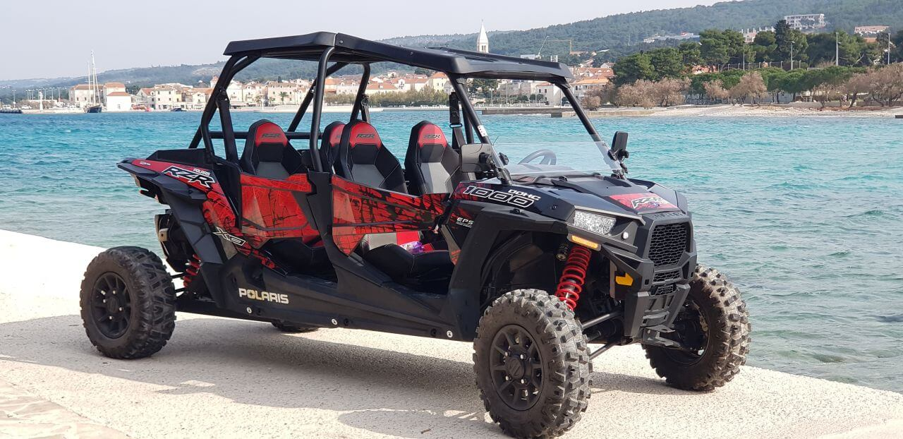 buggy rental in island brac, buggy 1000 ccm, buggy for 4 people